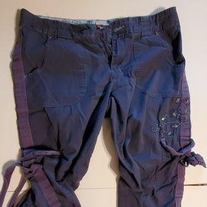 Xhillaration cargo pants size 9